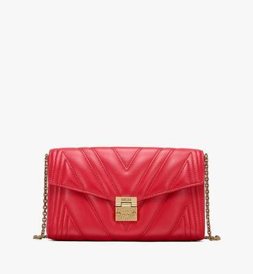 กระเป๋าครอสบอดี้ Millie ทำจากหนังบุนวม