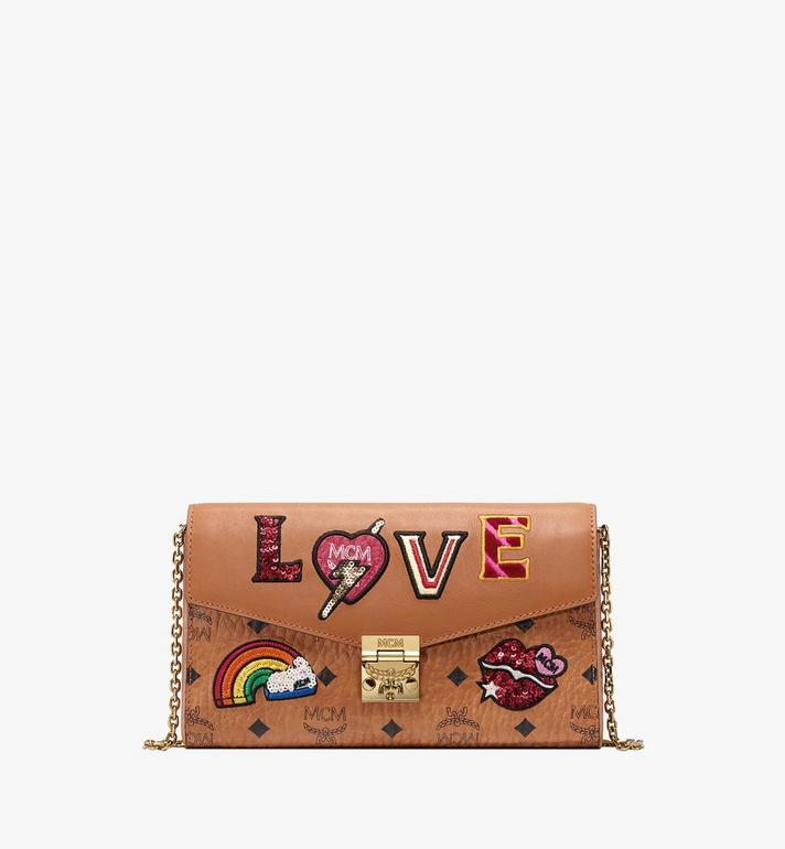 MCM Millie Crossbody in Love Patch Visetos Alternate View