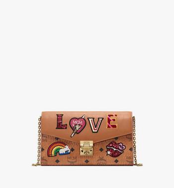 MCM Millie Crossbody in Love Patch Visetos Alternate View