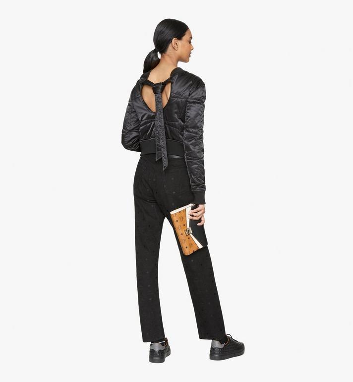 MCM Millie Crossbody in Color Block Leather Black MYZ9AME80BK001 Alternate View 4