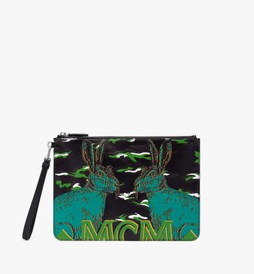 Pop Rabbit Wristlet Zip Pouch