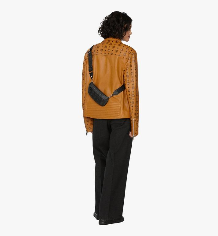 MCM Crossbody Bag in Visetos Black MYZ9AVI33BK001 Alternate View 3