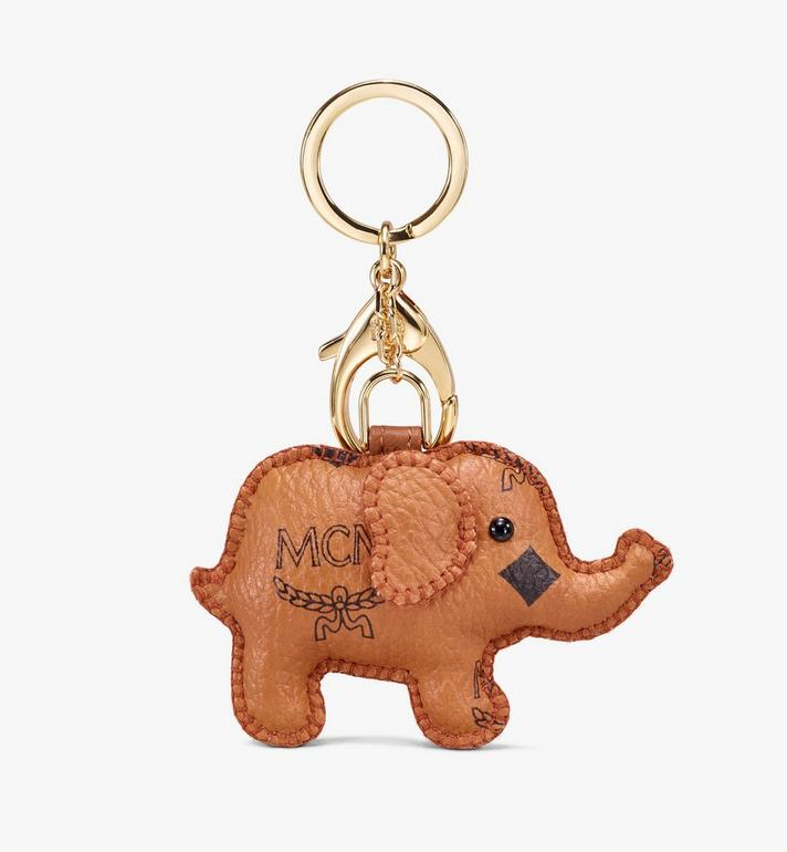 MCM Elephant Charm Cognac MYZ9AXL73CO001 Alternate View 2
