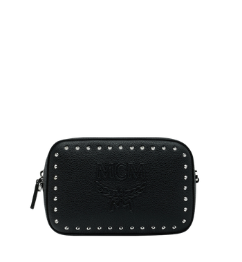 MCM Chansell Kameratasche aus Studded Outline Leder Alternate View 1