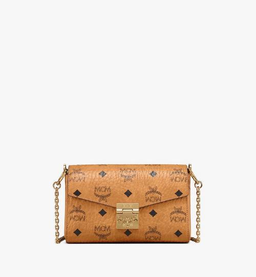 กระเป๋าสะพายครอสบอดี้มีฝาปิด Millie ลาย Visetos