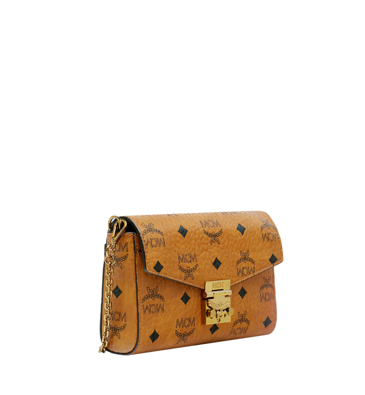 MCM Millie Visetos 翻蓋斜背包 Cognac MYZ9SME04CO001 Alternate View 2