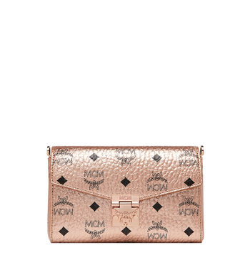 MCM Millie Flap Crossbody-Tasche in Visetos Alternate View