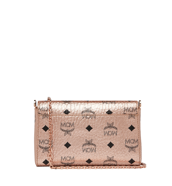 MCM Millie Flap Crossbody-Tasche in Visetos Gold MYZ9SME04TC001 Alternate View 4