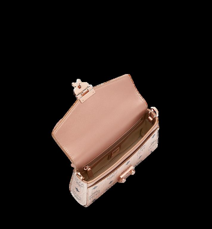 MCM Millie Flap Crossbody-Tasche in Visetos Gold MYZ9SME04TC001 Alternate View 5