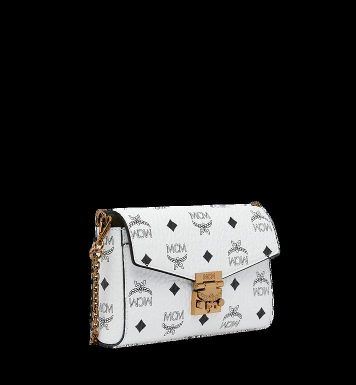 MCM Millie Flap Crossbody-Tasche in Visetos White MYZ9SME04WT001 Alternate View 2