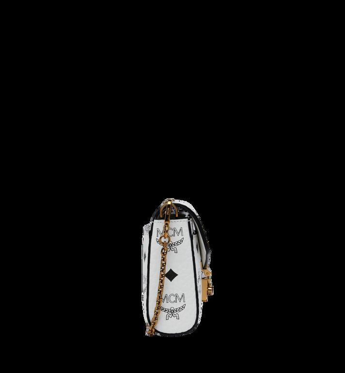 MCM Millie Flap Crossbody-Tasche in Visetos White MYZ9SME04WT001 Alternate View 3