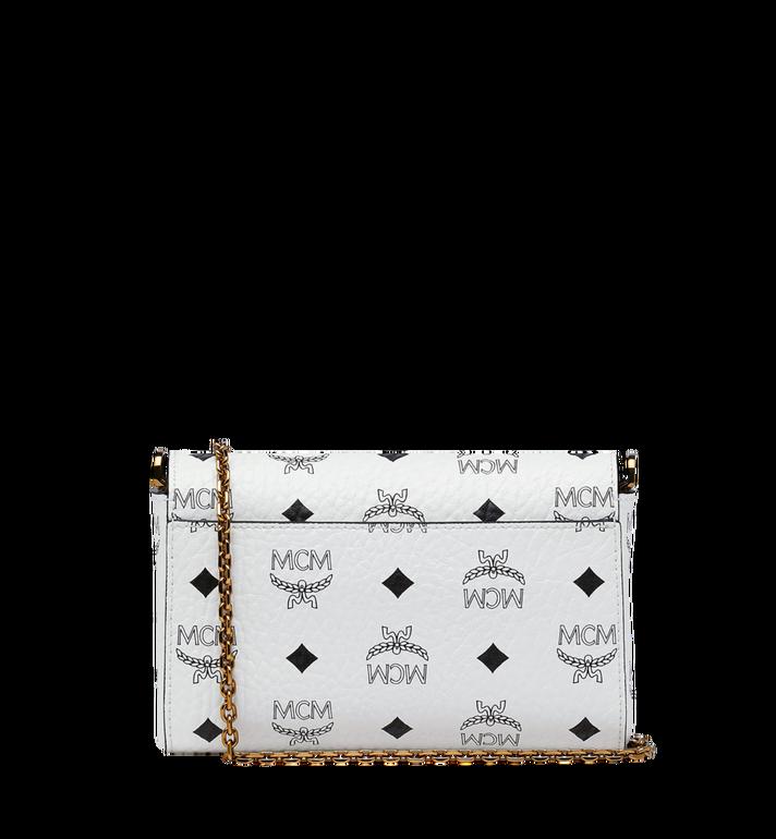 MCM Millie Flap Crossbody-Tasche in Visetos White MYZ9SME04WT001 Alternate View 4