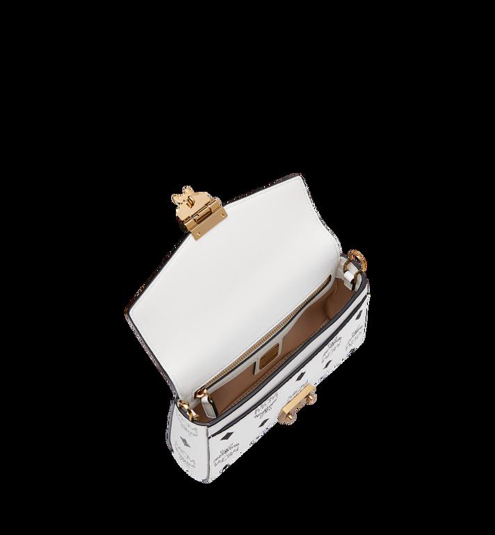 MCM Millie Flap Crossbody-Tasche in Visetos White MYZ9SME04WT001 Alternate View 5