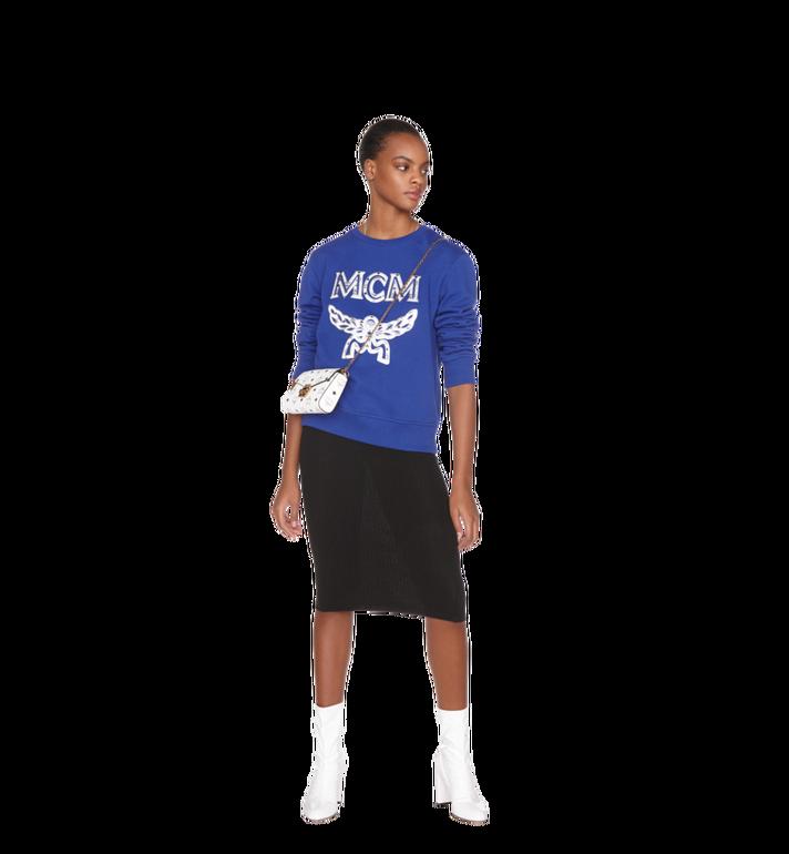 MCM Millie Flap Crossbody-Tasche in Visetos White MYZ9SME04WT001 Alternate View 6