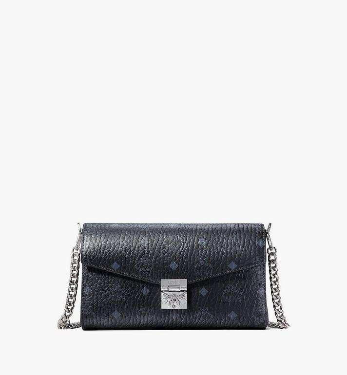MCM Visetos皮革Millie斜揹包 Black MYZ9SME05BK001 Alternate View 1