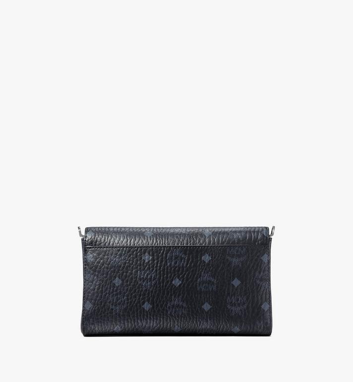 MCM Millie Flap Crossbody-Tasche in Visetos Black MYZ9SME05BK001 Alternate View 3