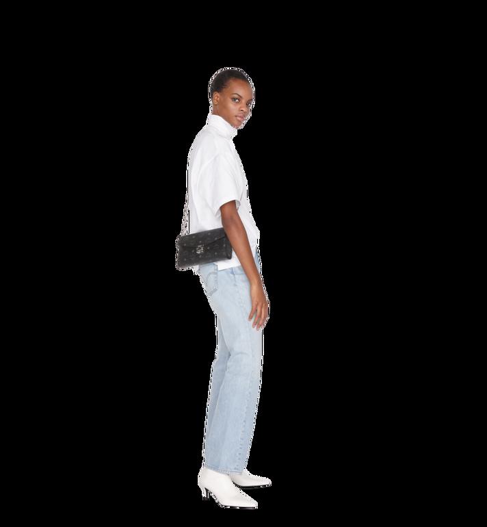 MCM Millie Flap Crossbody-Tasche in Visetos Black MYZ9SME05BK001 Alternate View 4
