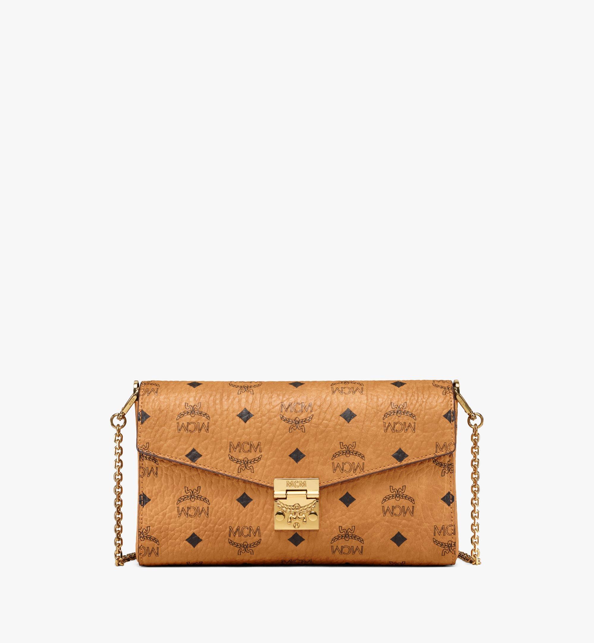 MCM Millie Flap Crossbody-Tasche in Visetos Cognac MYZ9SME05CO001 Alternate View 1