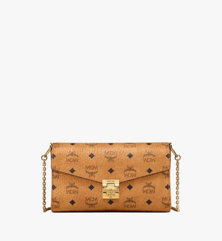 MCM Millie Visetos 翻蓋斜背包 Cognac MYZ9SME05CO001 Alternate View 1