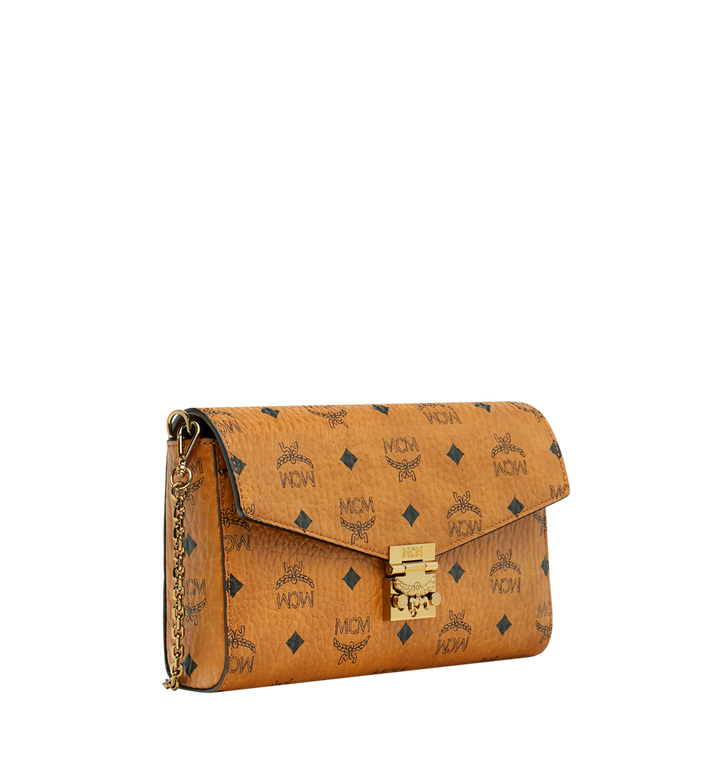 MCM Millie Visetos 翻蓋斜背包 Cognac MYZ9SME05CO001 Alternate View 2
