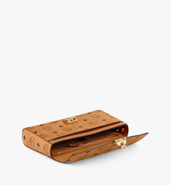 MCM Millie Flap Crossbody-Tasche in Visetos Cognac MYZ9SME05CO001 Alternate View 3