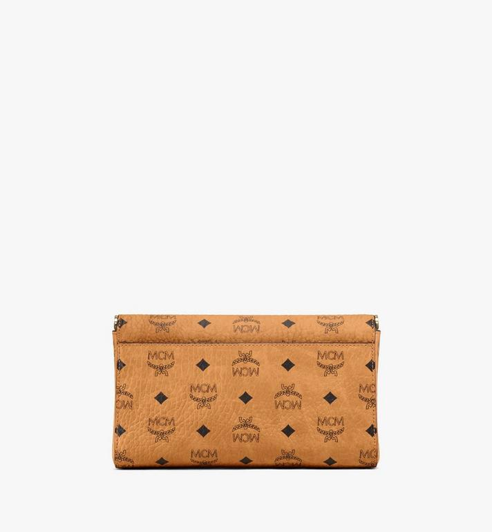MCM Millie Visetos 翻蓋斜背包 Cognac MYZ9SME05CO001 Alternate View 4