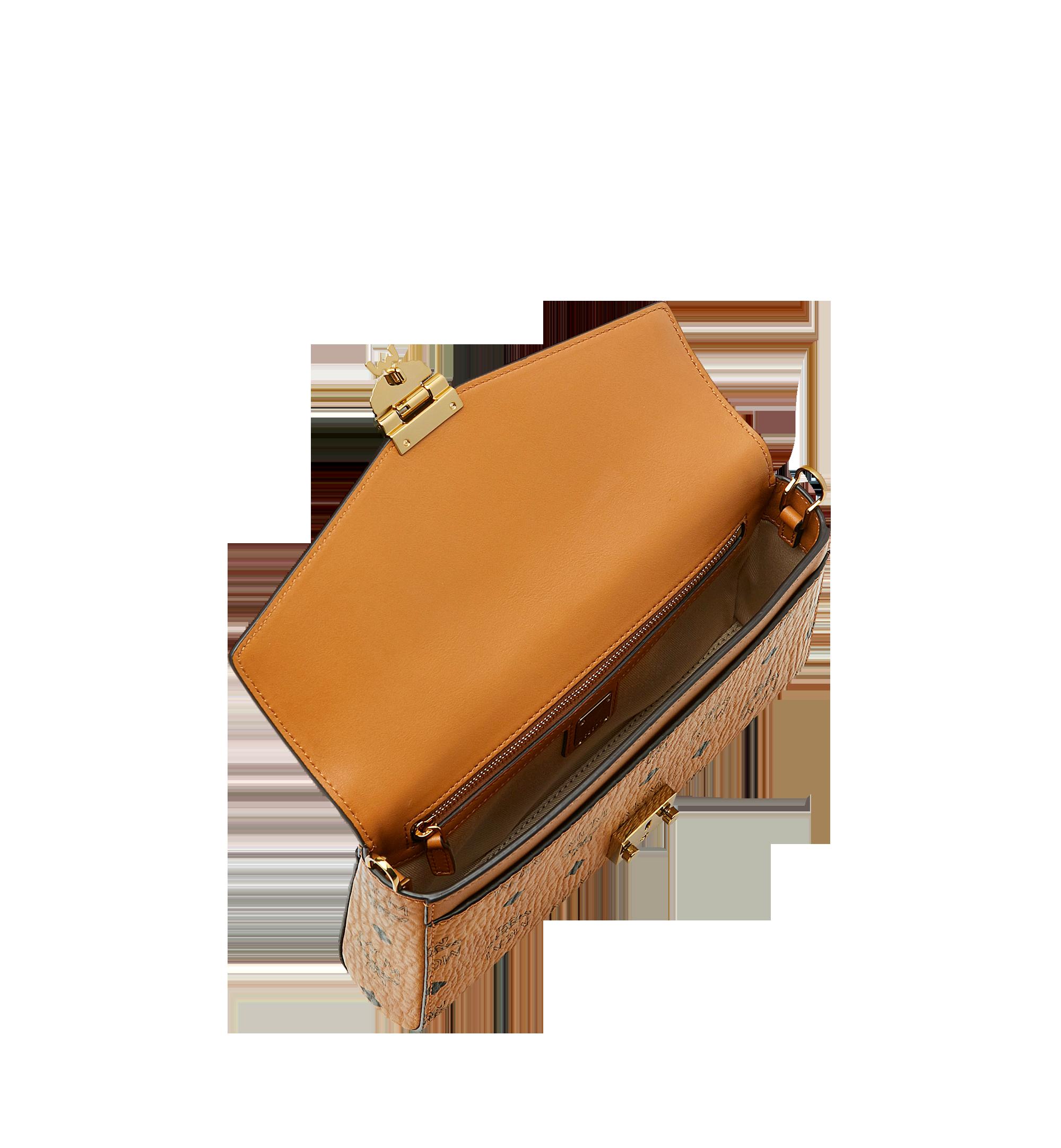 MCM Millie Flap Crossbody-Tasche in Visetos Cognac MYZ9SME05CO001 Alternate View 5