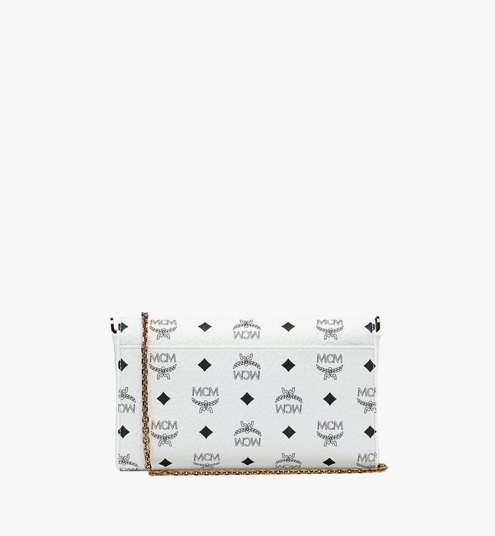 MCM Millie Flap Crossbody-Tasche in Visetos White MYZ9SME05WT001 Alternate View 4