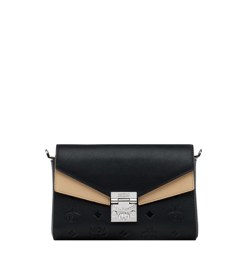 Millie Flap Crossbody-Tasche aus Leder mit Monogramm