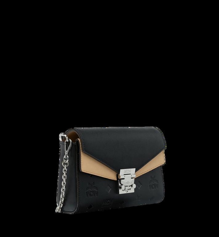 MCM Millie Flap Crossbody-Tasche aus Leder mit Monogramm Black MYZ9SME08BK001 Alternate View 2