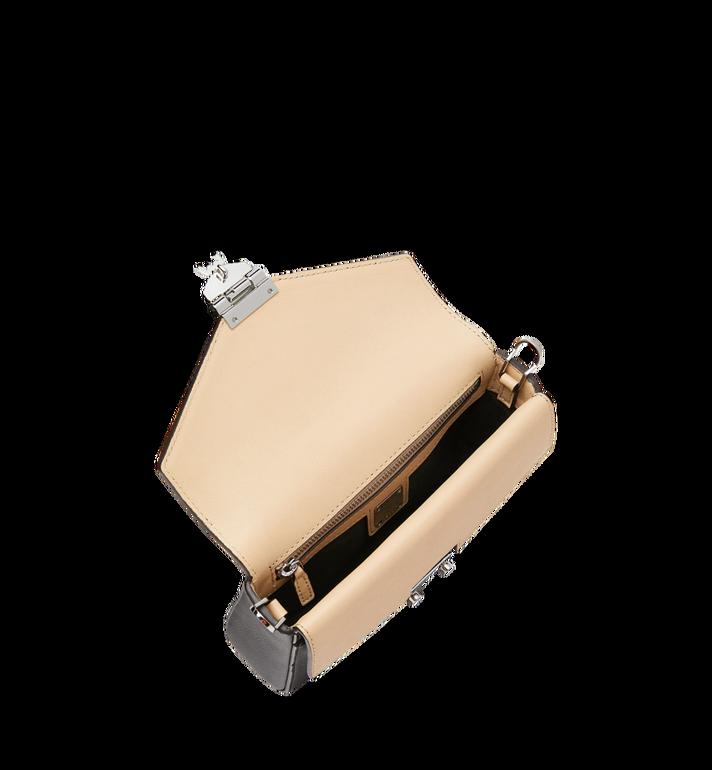 MCM Millie Flap Crossbody-Tasche aus Leder mit Monogramm Black MYZ9SME08BK001 Alternate View 5