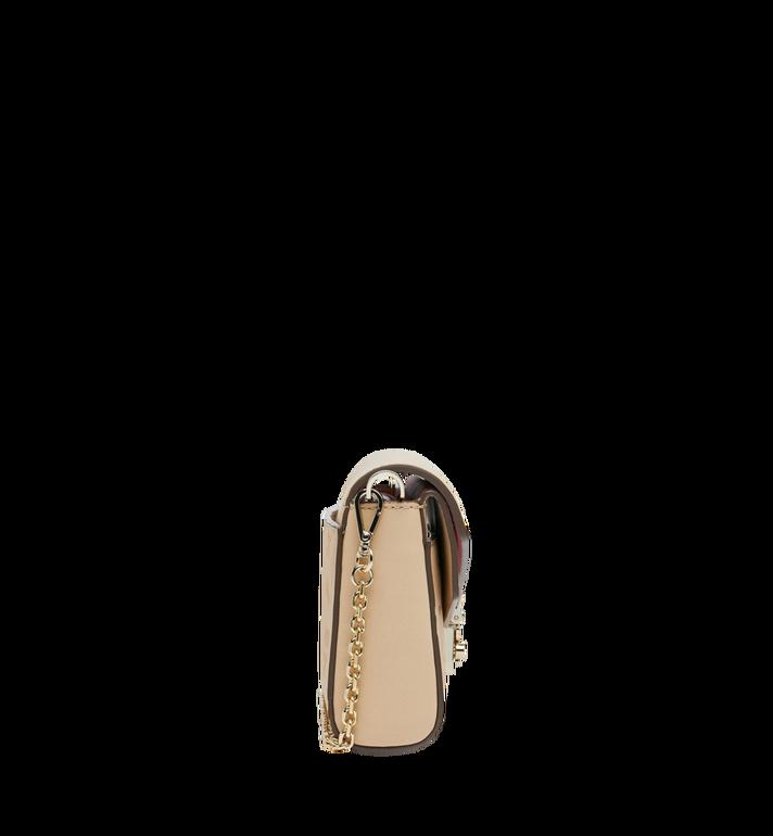 MCM Millie Flap Crossbody-Tasche aus Leder mit Monogramm Alternate View 3