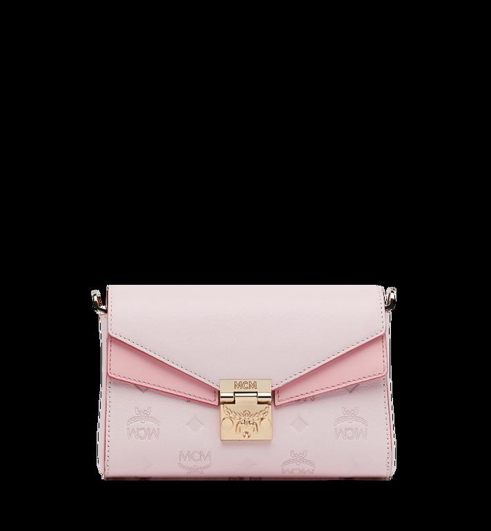 MCM Millie Flap Crossbody-Tasche aus Leder mit Monogramm Alternate View
