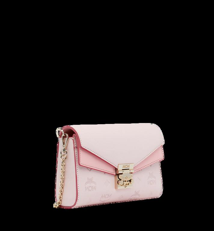 MCM Millie Flap Crossbody-Tasche aus Leder mit Monogramm Alternate View 2