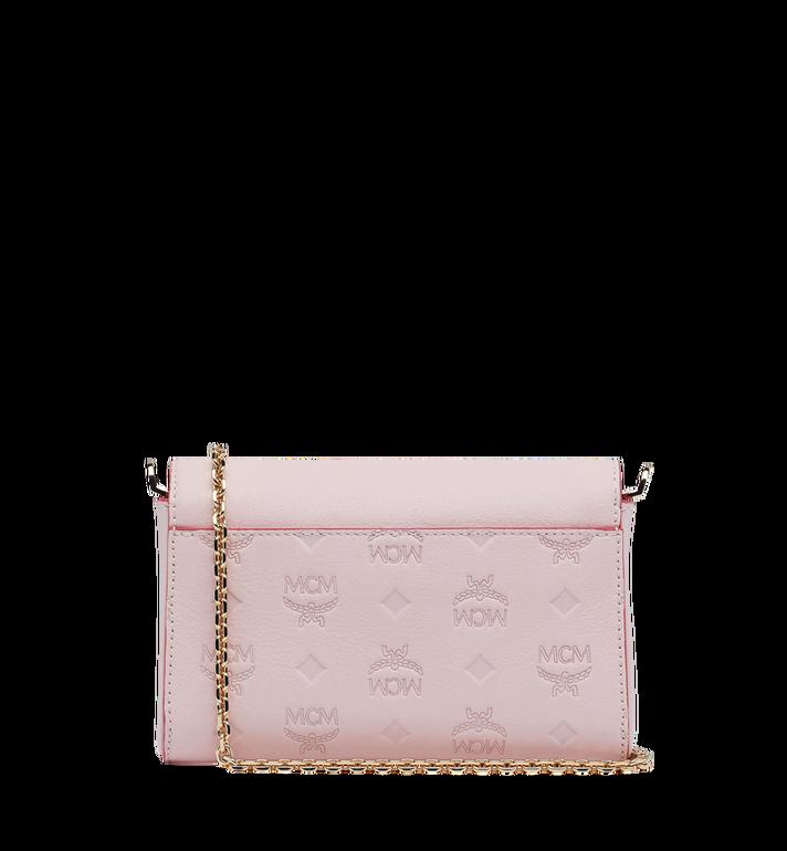 MCM Millie Flap Crossbody-Tasche aus Leder mit Monogramm Alternate View 4