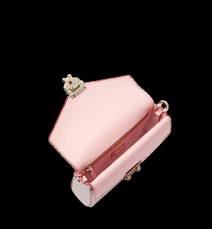 MCM Millie Flap Crossbody-Tasche aus Leder mit Monogramm Alternate View 5