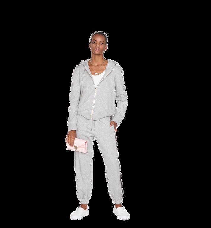 MCM Millie Flap Crossbody-Tasche aus Leder mit Monogramm Alternate View 6