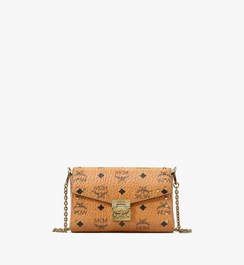 Millie Flap Crossbody in Studded Outline Visetos