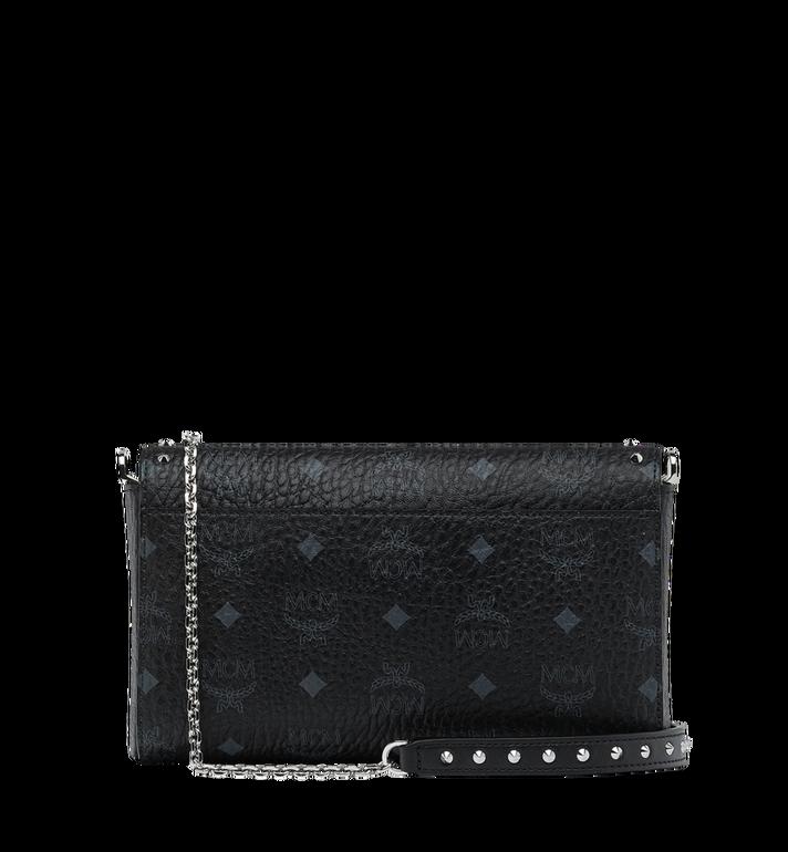 MCM Millie Flap Crossbody in Studded Outline Visetos Black MYZ9SME26BK001 Alternate View 4