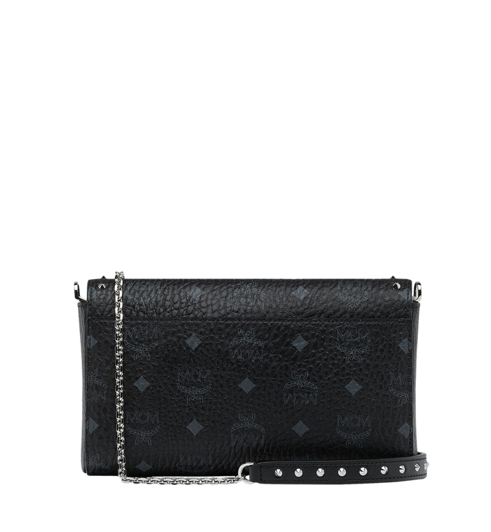 MCM Millie Visetos 鉚釘斜背包 Black MYZ9SME26BK001 Alternate View 4
