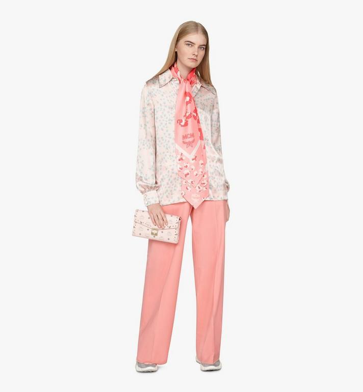 MCM Millie Crossbody in Studded Visetos Pink MYZ9SME26QH001 Alternate View 6