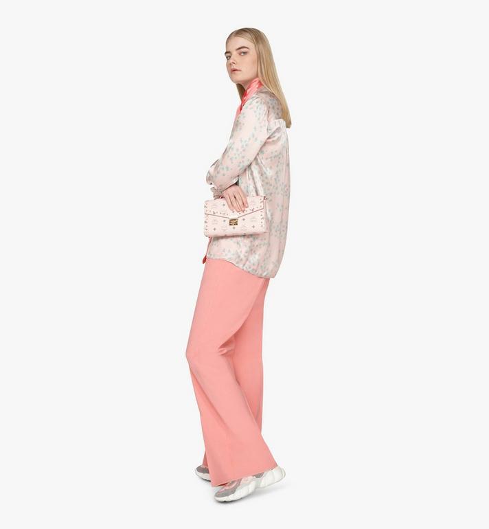 MCM Millie Crossbody in Studded Visetos Pink MYZ9SME26QH001 Alternate View 7