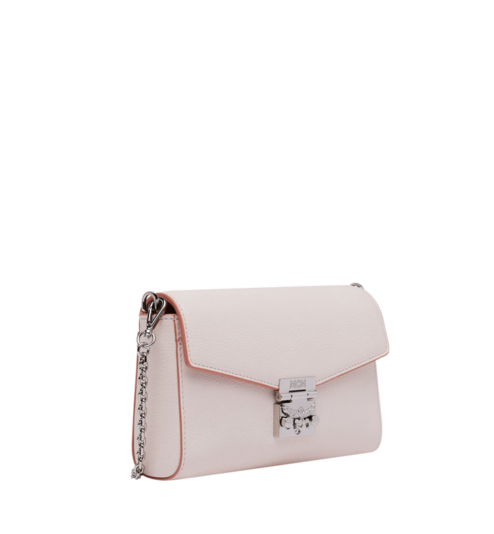 MCM Millie Flap Crossbody in Grained Leather Pink MYZ9SME54QC001 Alternate View 2