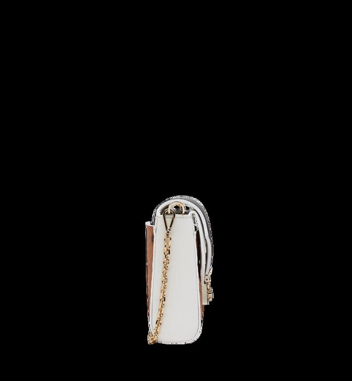 MCM Millie Flap Crossbody in Visetos Leather Block Alternate View 3