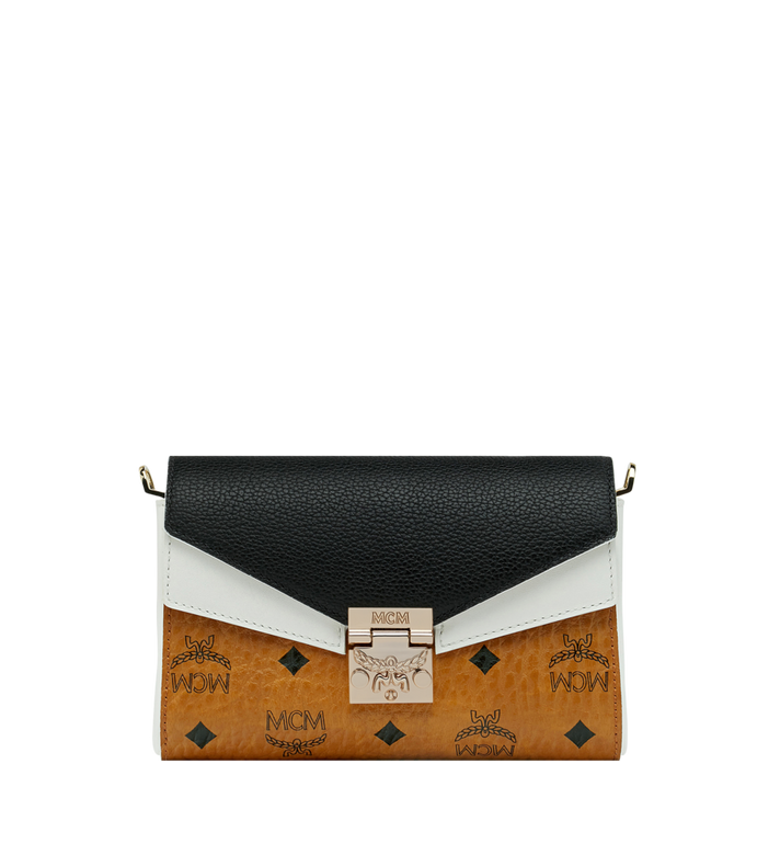 MCM Millie Flap Crossbody in Visetos Leather Block Alternate View