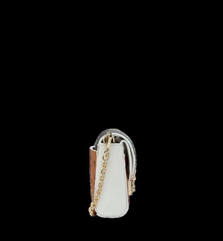 MCM Millie Visetos Crossbody mit Lederüberschlag Cognac MYZ9SME81CB001 Alternate View 3