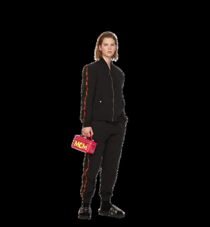 MCM Rockstar Vanity Case in Neon Stud Leather Alternate View 6