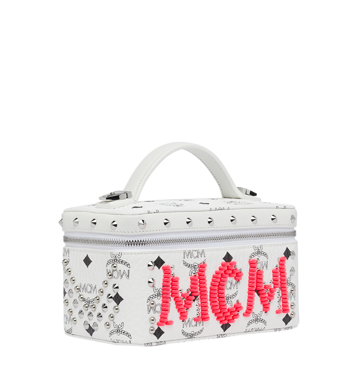MCM Rockstar Vanity Case in Neon Stud Visetos Alternate View 2