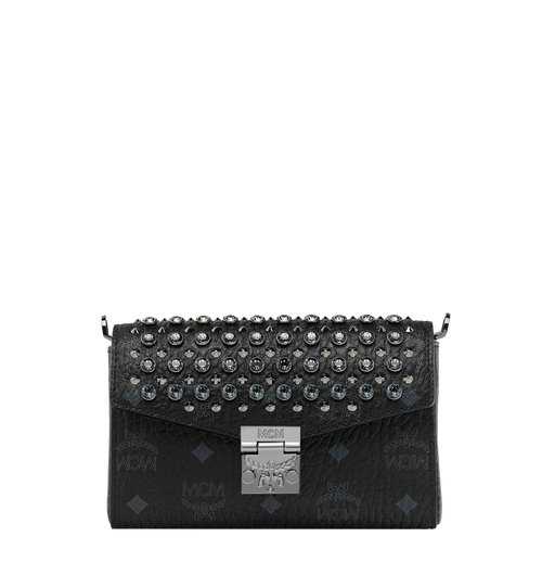 Diamond Visetos Flap Crossbody-Tasche