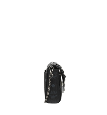 MCM Diamond Visetos Flap Crossbody-Tasche Alternate View 3